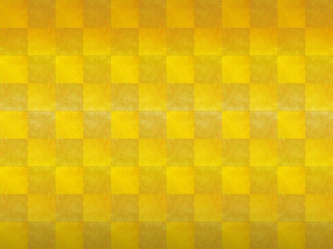 黄色の織布