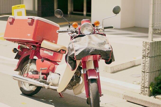 郵便バイク
