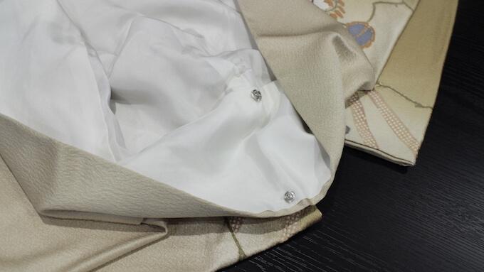 着物の襟部分